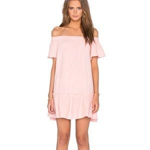 Rebecca Taylor Off The Shoulder Gauze Dress
